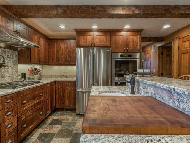 Rustic Looking Kitchen Remodel Design Project, Goffstown, NH