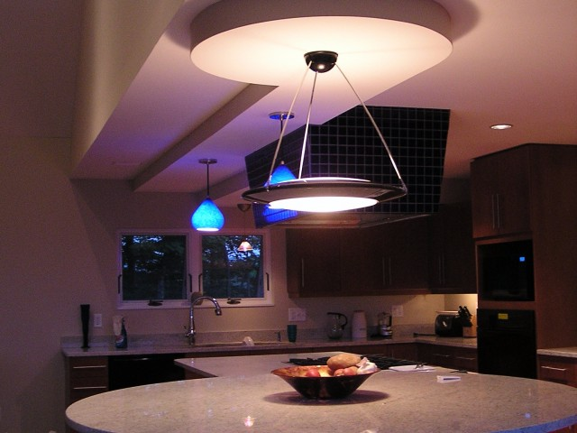 Custom Modern Island Kitchen Addition