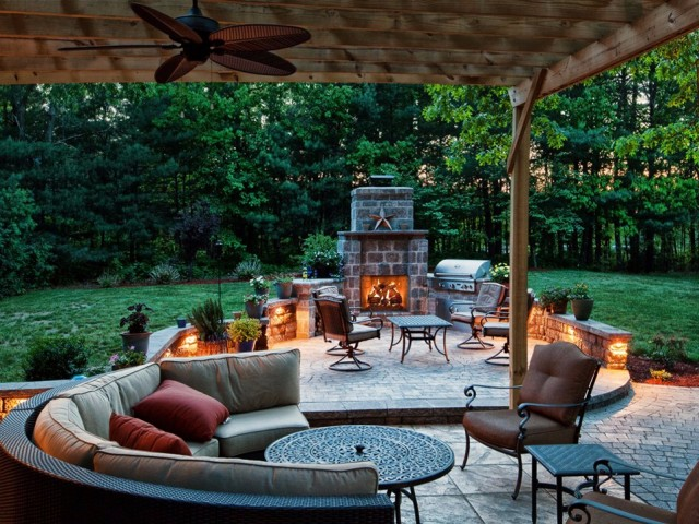Gorgeous Outdoor Living Spaces