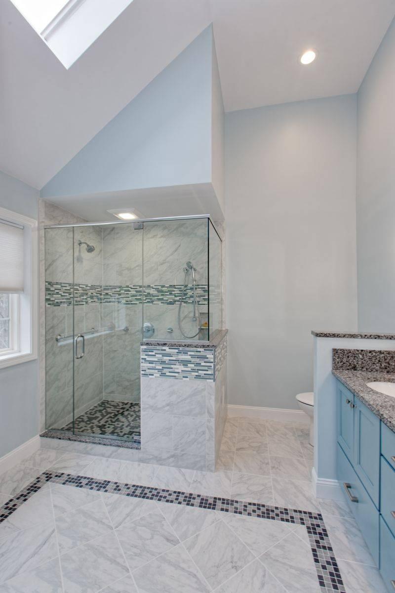Auburn NH Vertical Bathroom Remodel