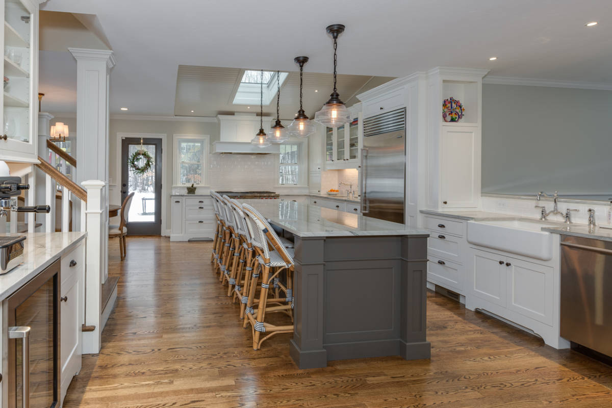 Kitchen Addition Kitchen Addition Home Remodel Bedford Nh Build Savvy Home