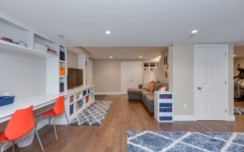 Entertaining Basement Remodel