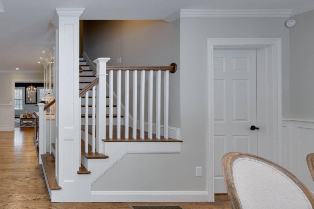 Stairs going Upstairs