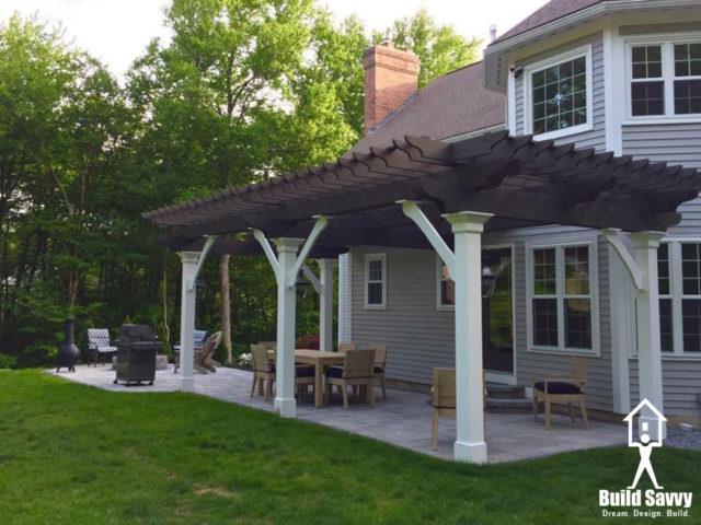 Custom Pergola, Bedford, NH