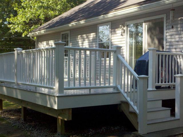 Boissonneau Deck, Amherst, NH