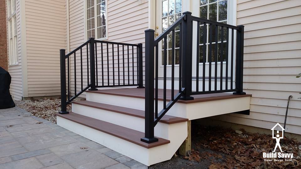 Magee deck steps