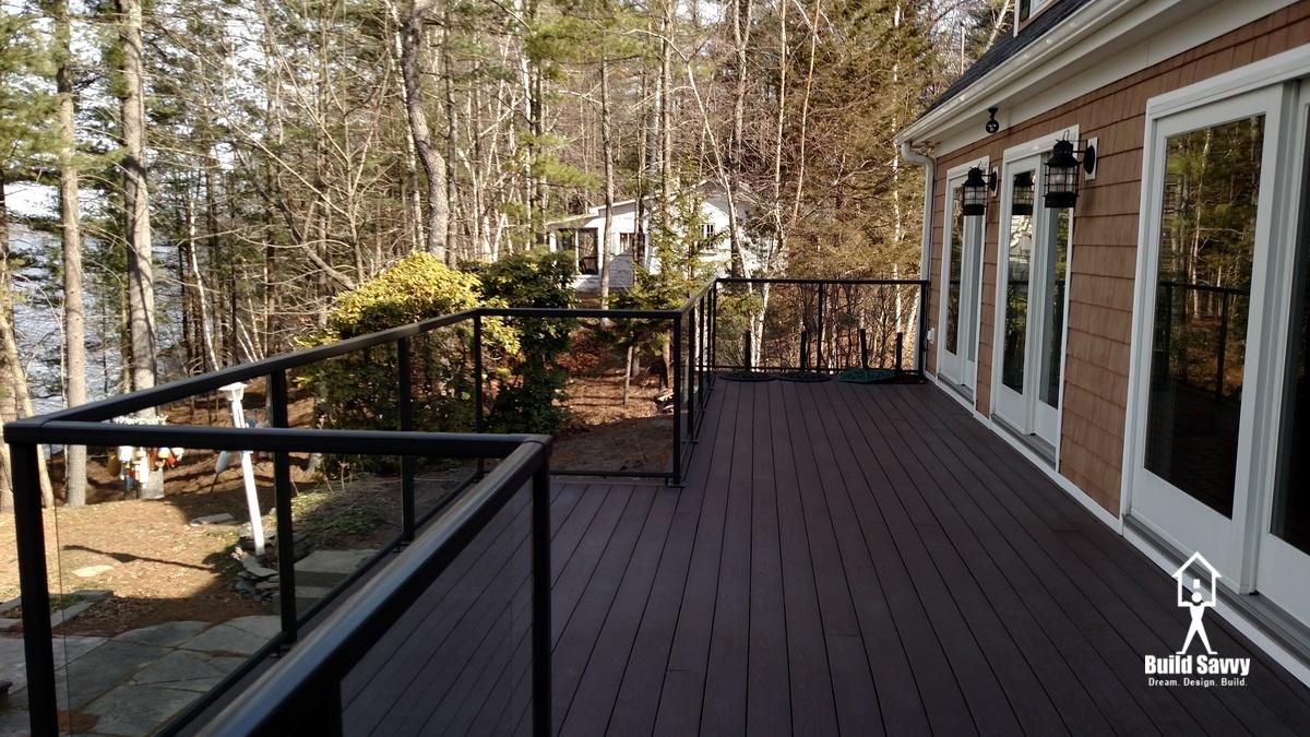Hiatt Deck Porch with Railing